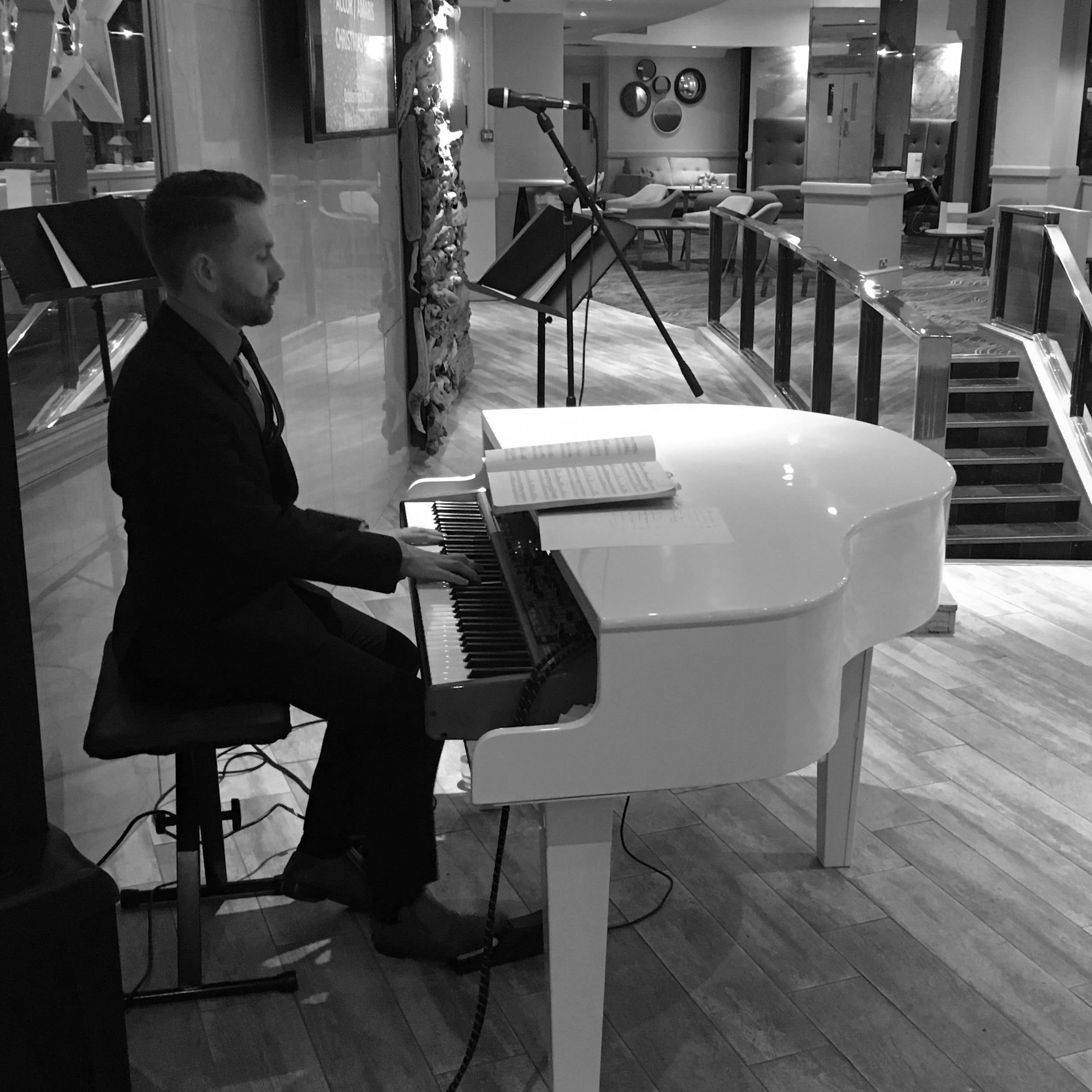 Liverpool wedding piano
