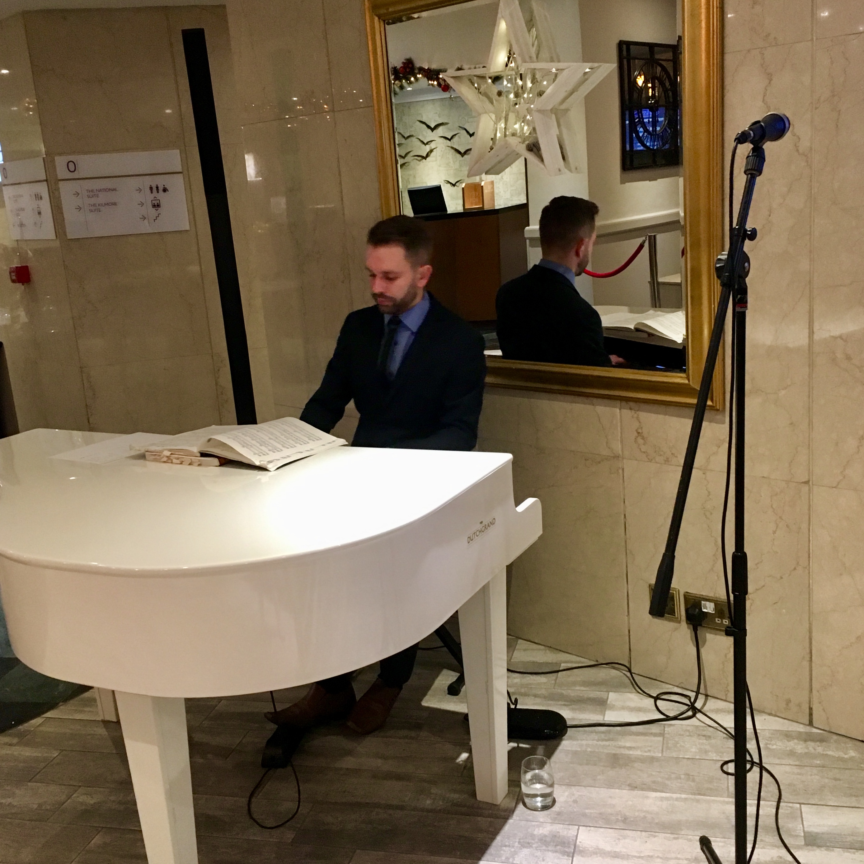 Pianist for Atlantic Tower Liverpool weddings