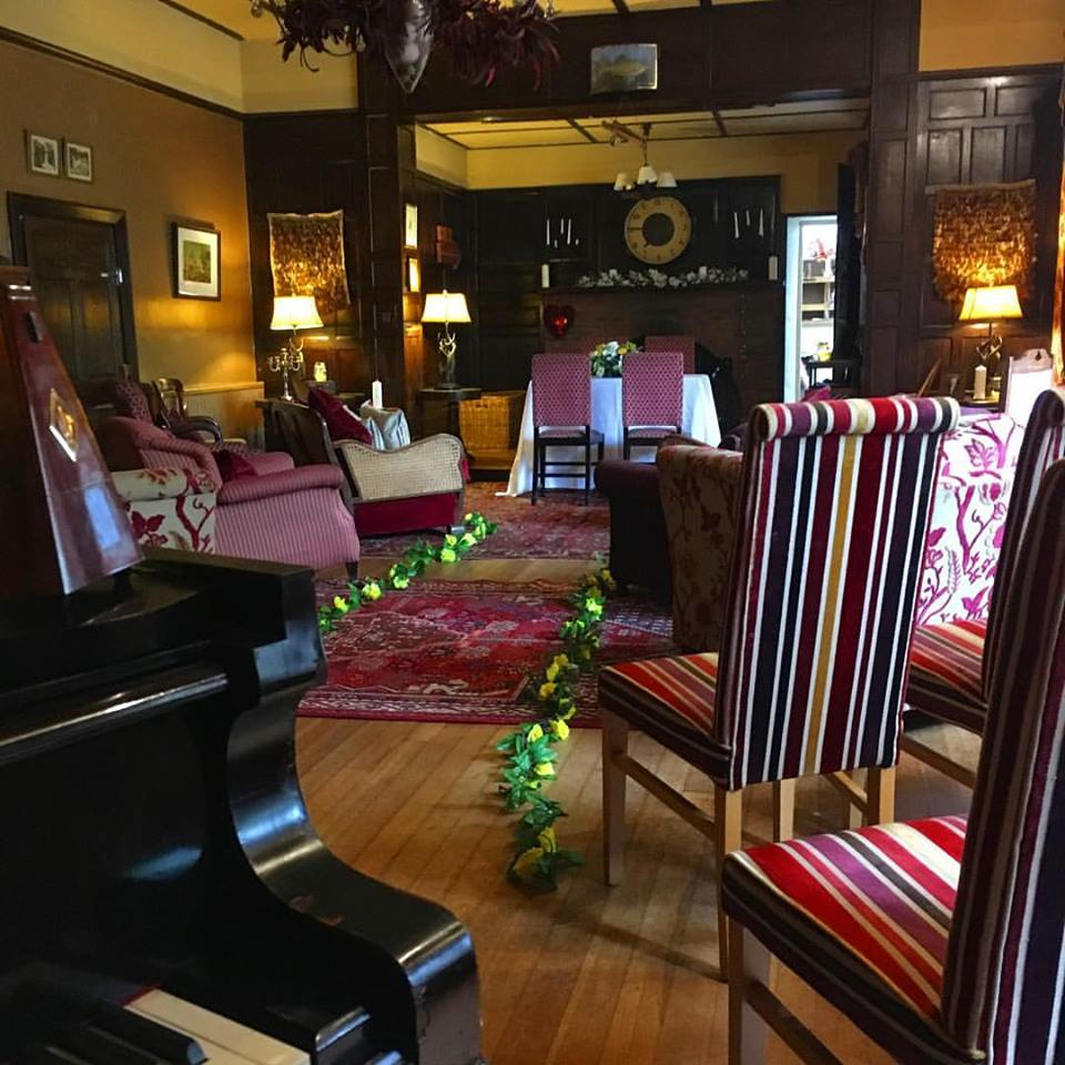 Craig Smith Wedding Pianist playing piano for Augill Castle wedding ceremony
