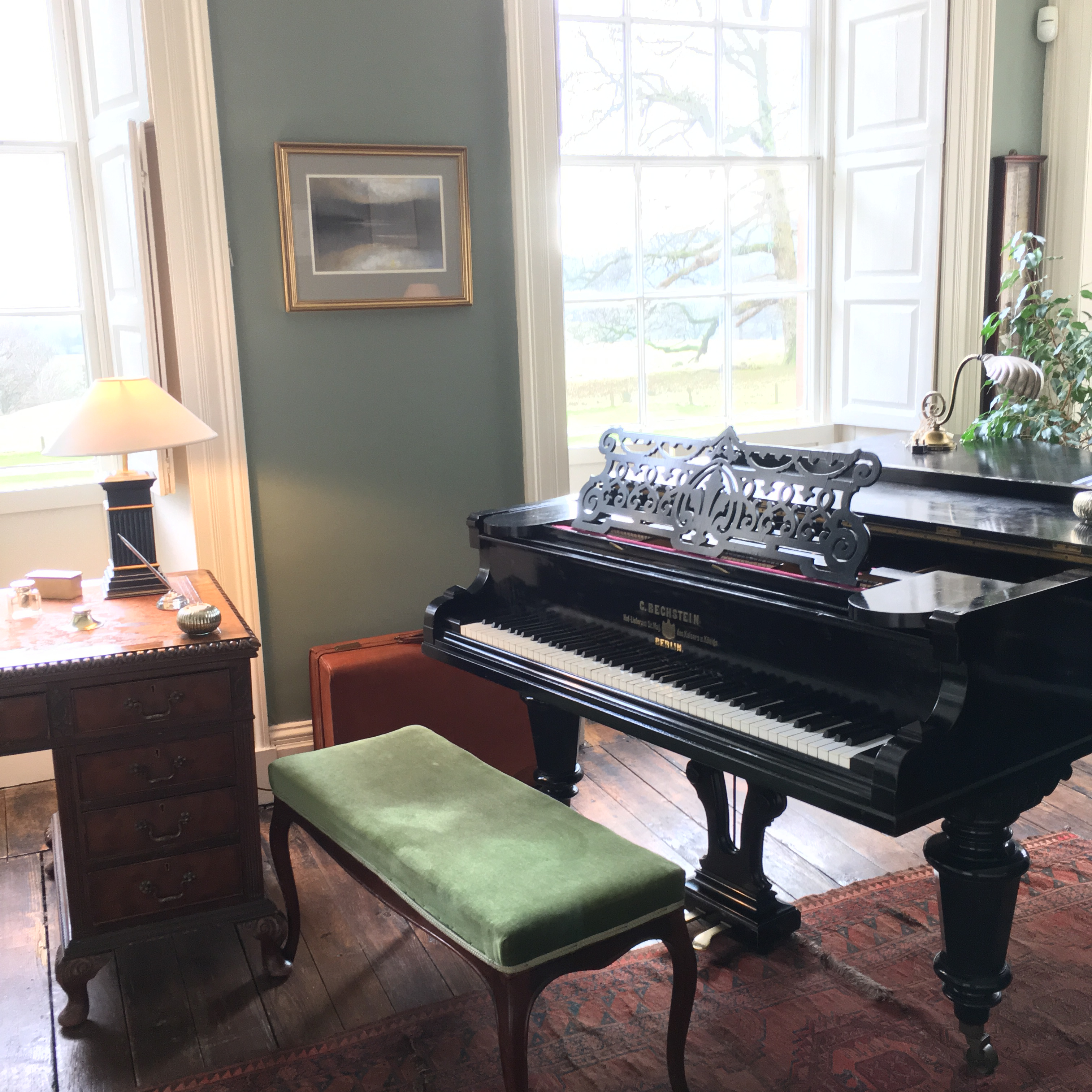 Belmount Hall wedding pianist