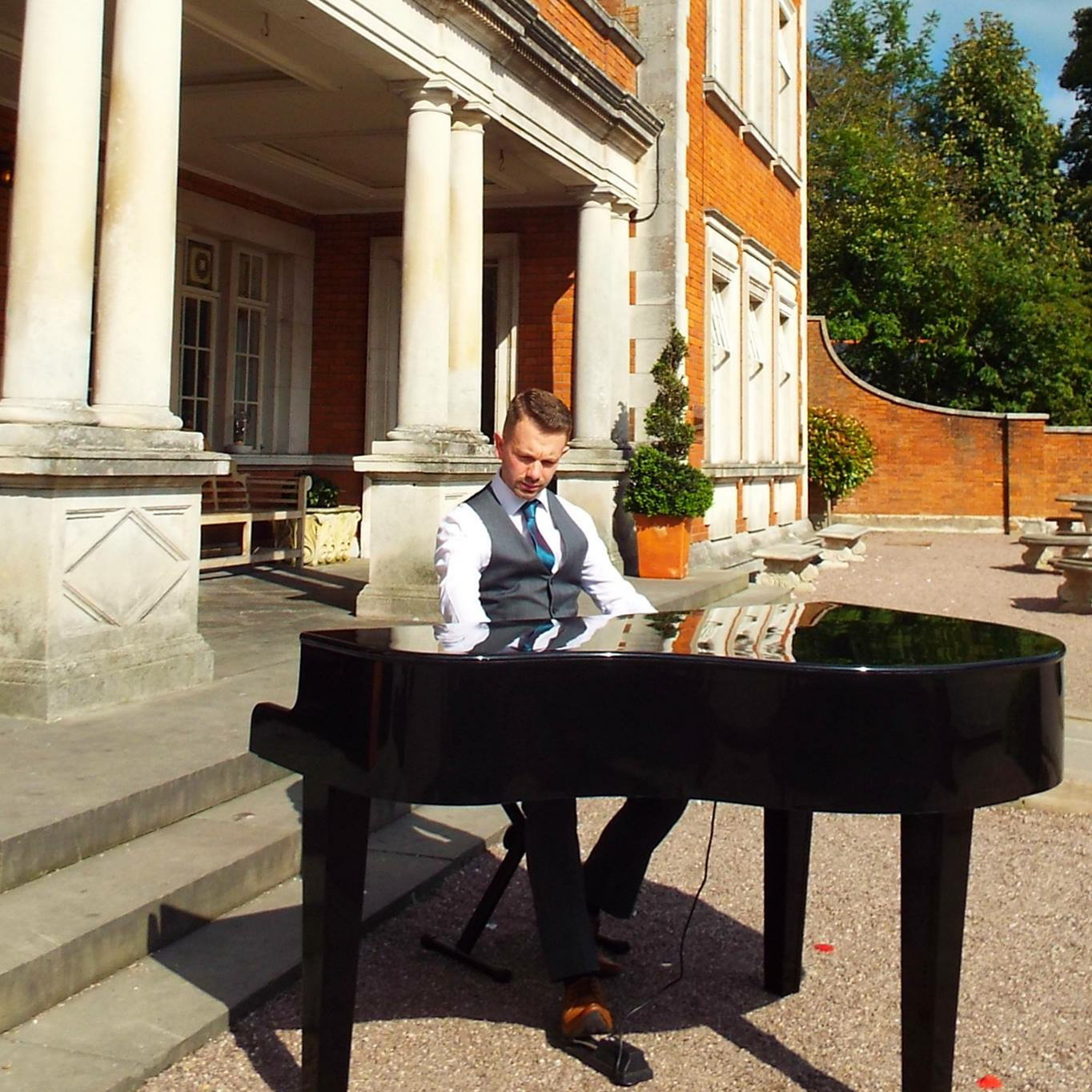 Black Piano Hire for Weddings in Lancashire