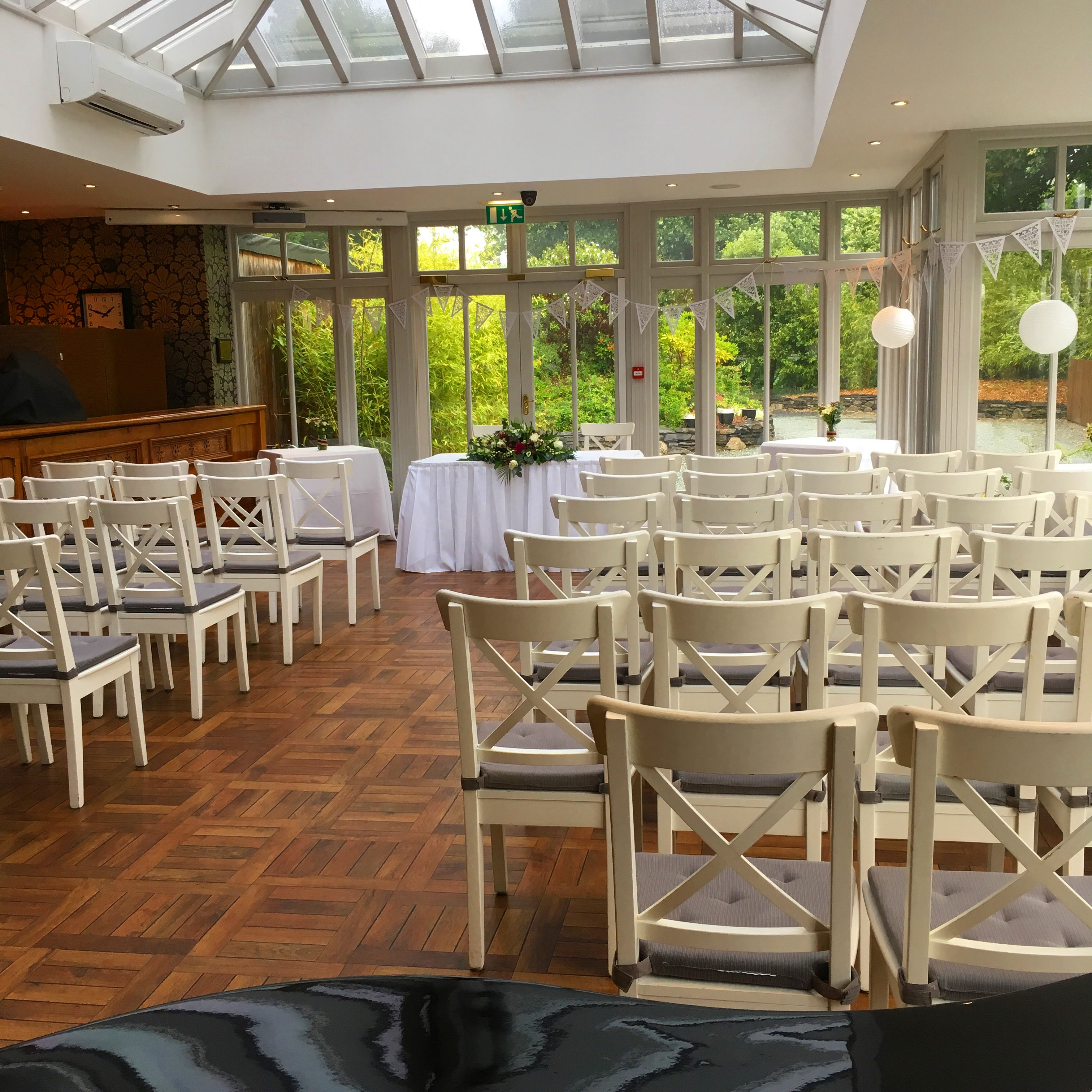 Pianist for Broadoaks Country House wedding ceremony