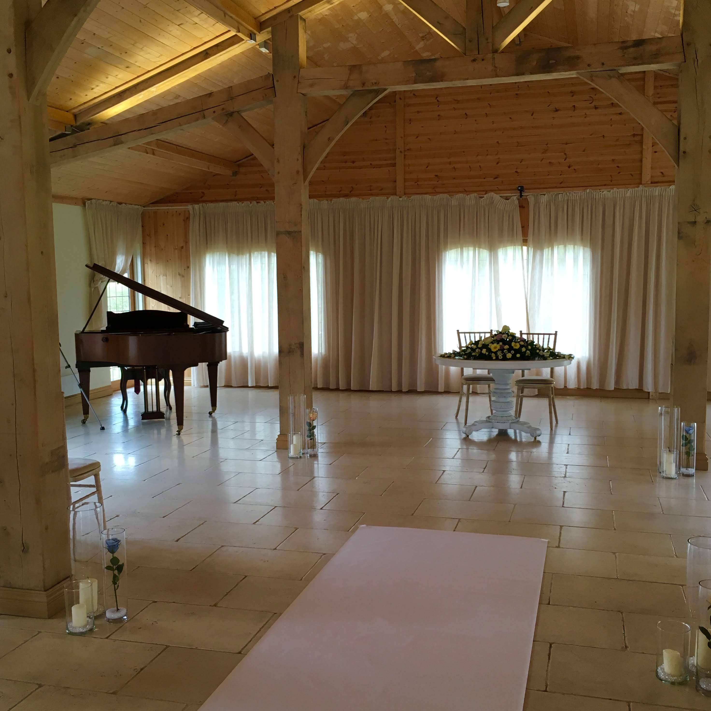 Wedding Ceremony Piano at Colshaw Hall