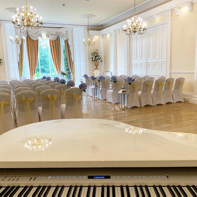 wedding pianist for grange hotel