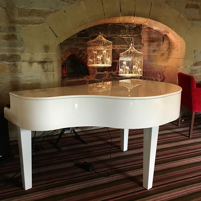 Craig Smith Music piano for Lancashire Manor wedding receptions