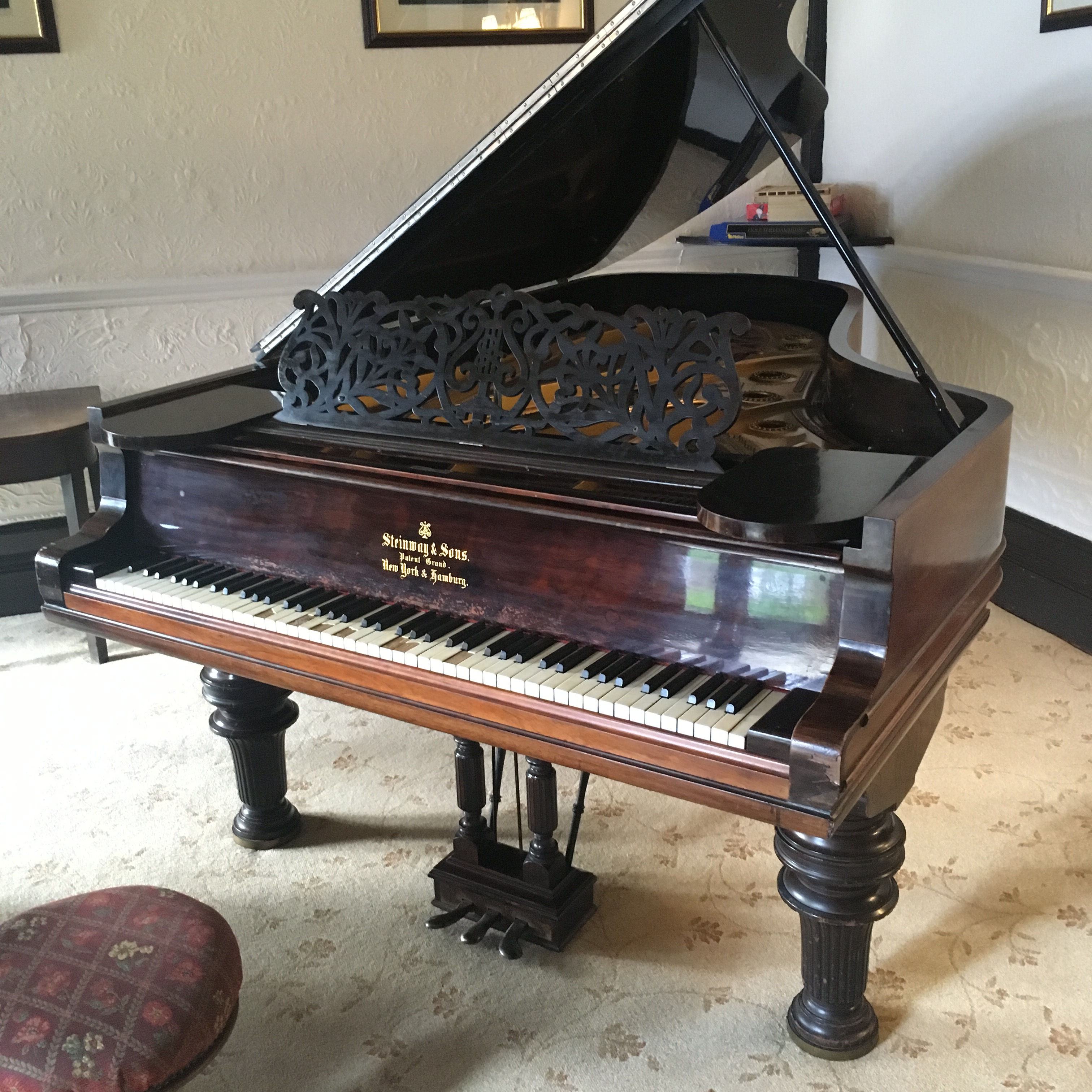 Langdale Chase wedding piano by Craig Smith