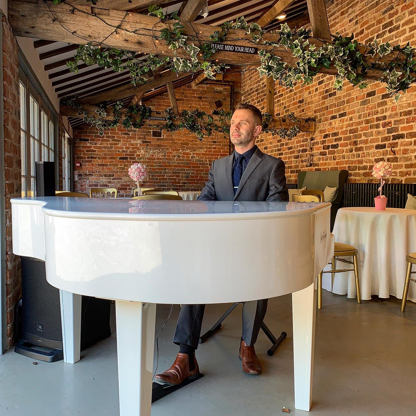 Craig Smith recommended pianist for Meols Hall weddings
