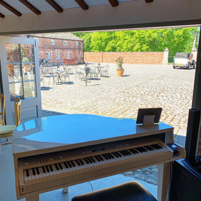 Craig Smith wedding piano for Meols Hall