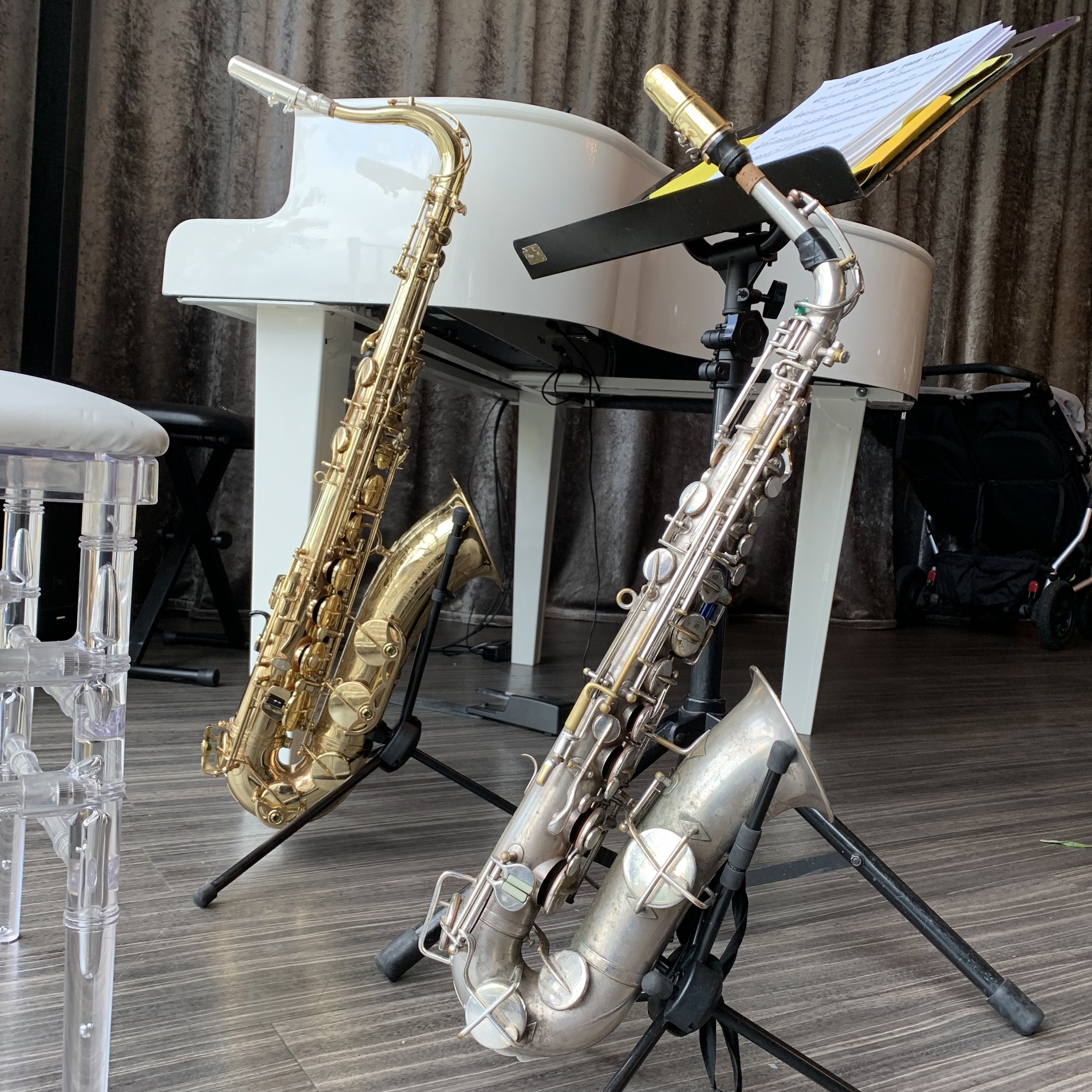 Merrydale Manor saxophone and piano