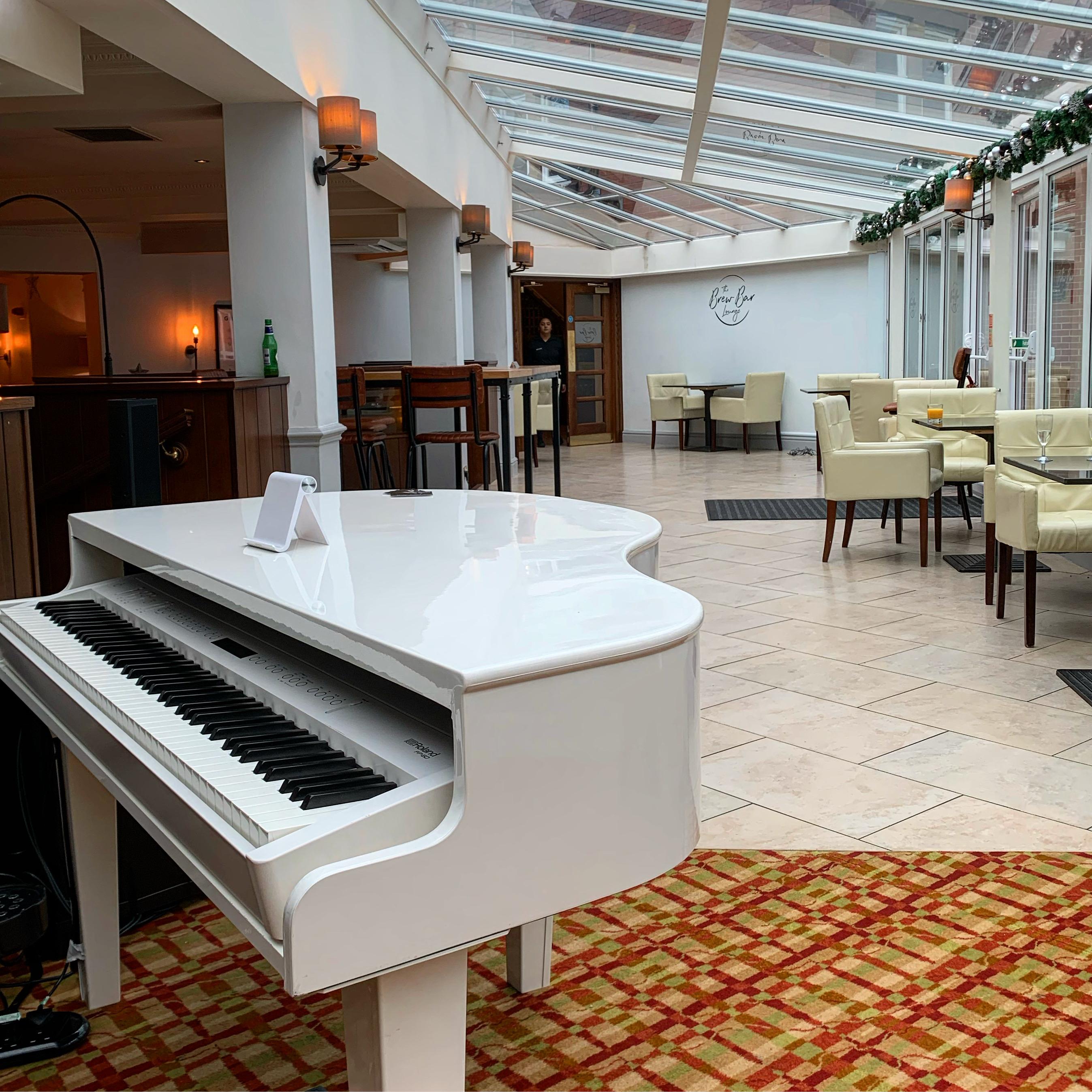 Craig Smith Wedding Pianist for Preston Marriott