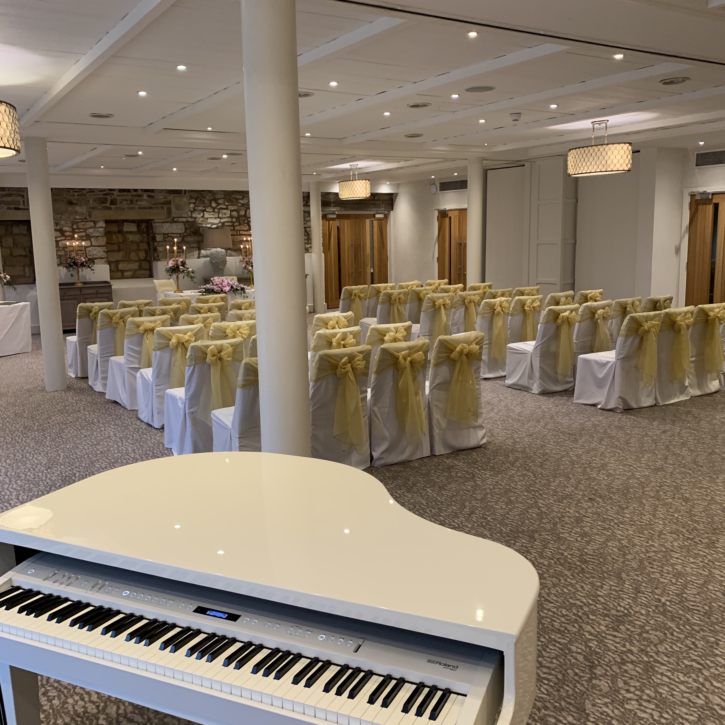 Stanley House wedding ceremony music
