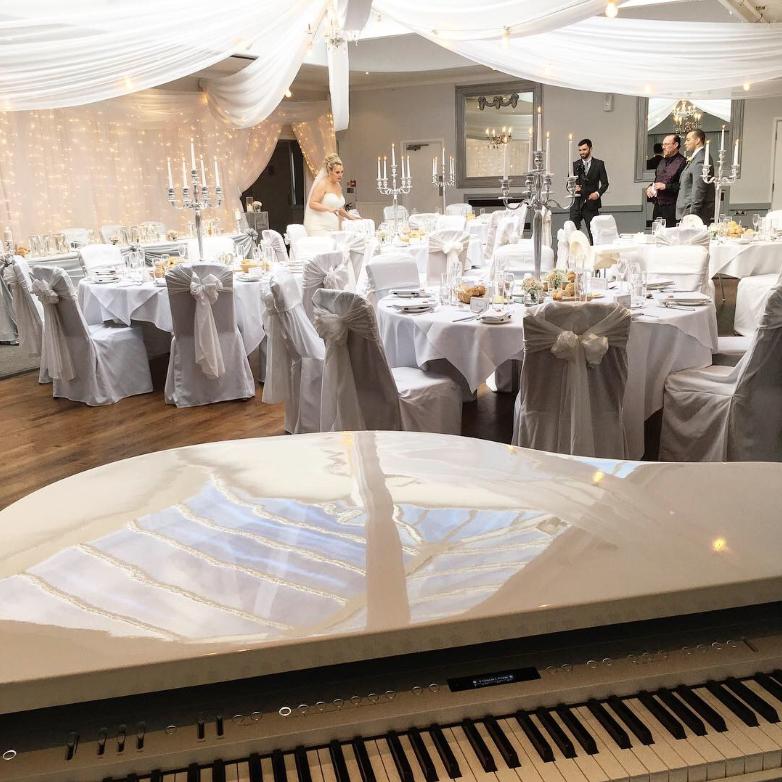 Stirk House wedding breakfast piano music