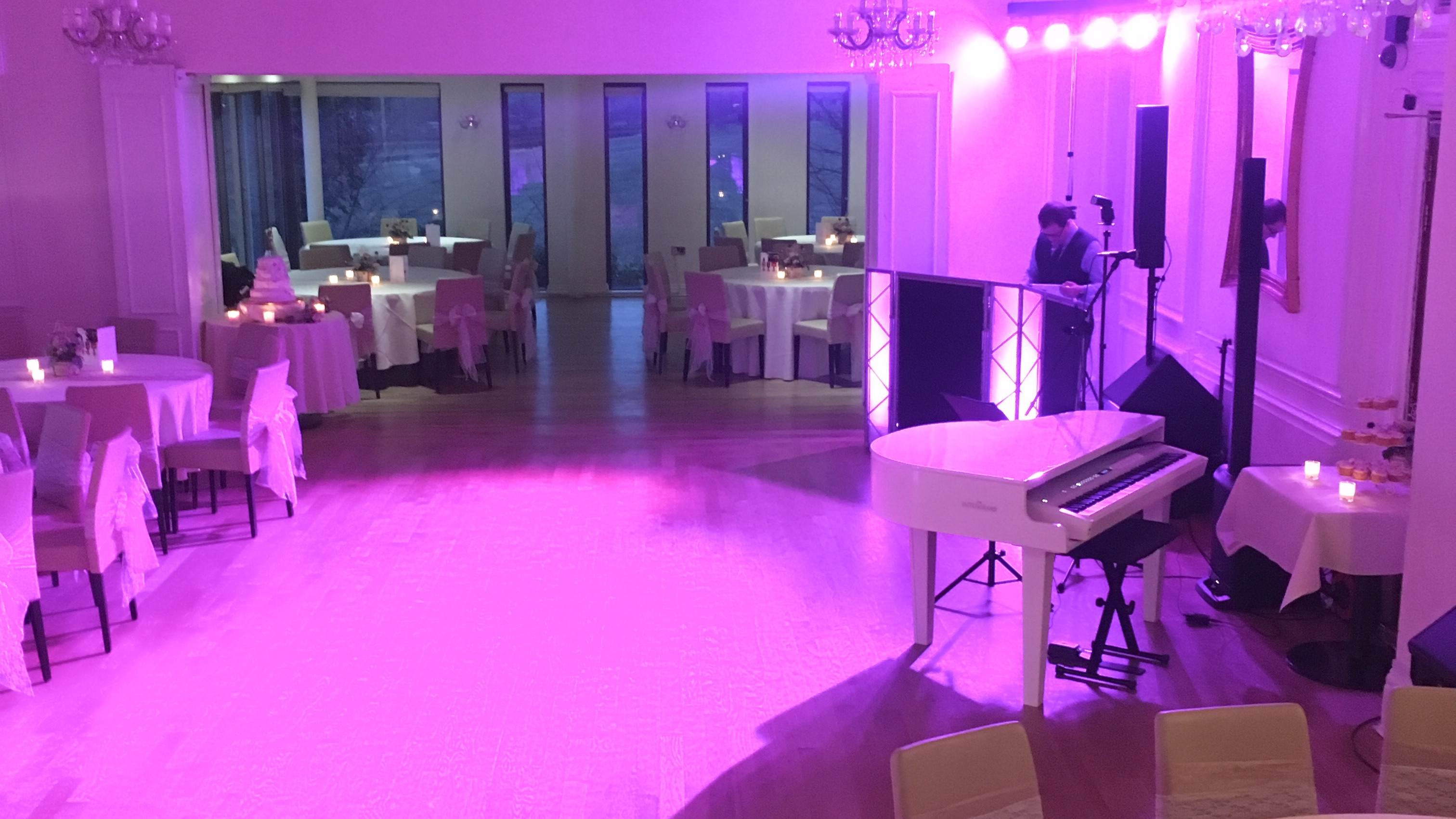 Evening entertainment on piano for West Tower