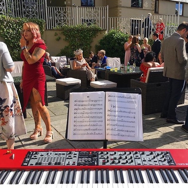 Pianist for drinks reception at West Tower