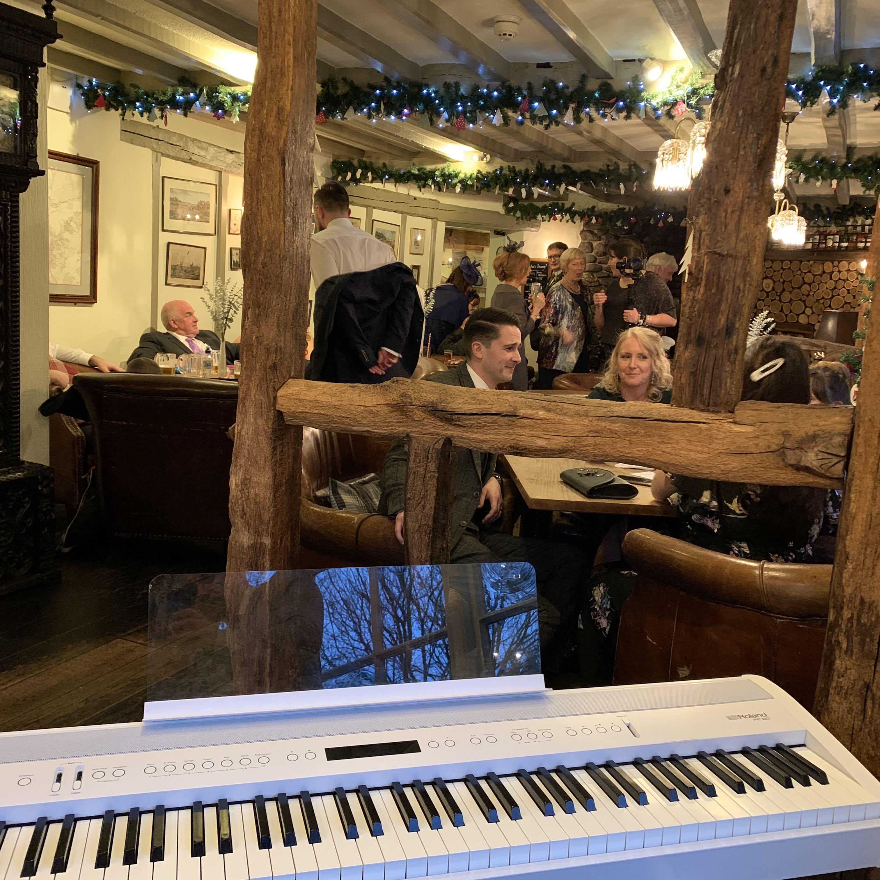 Wedding piano for Wild Boar Inn