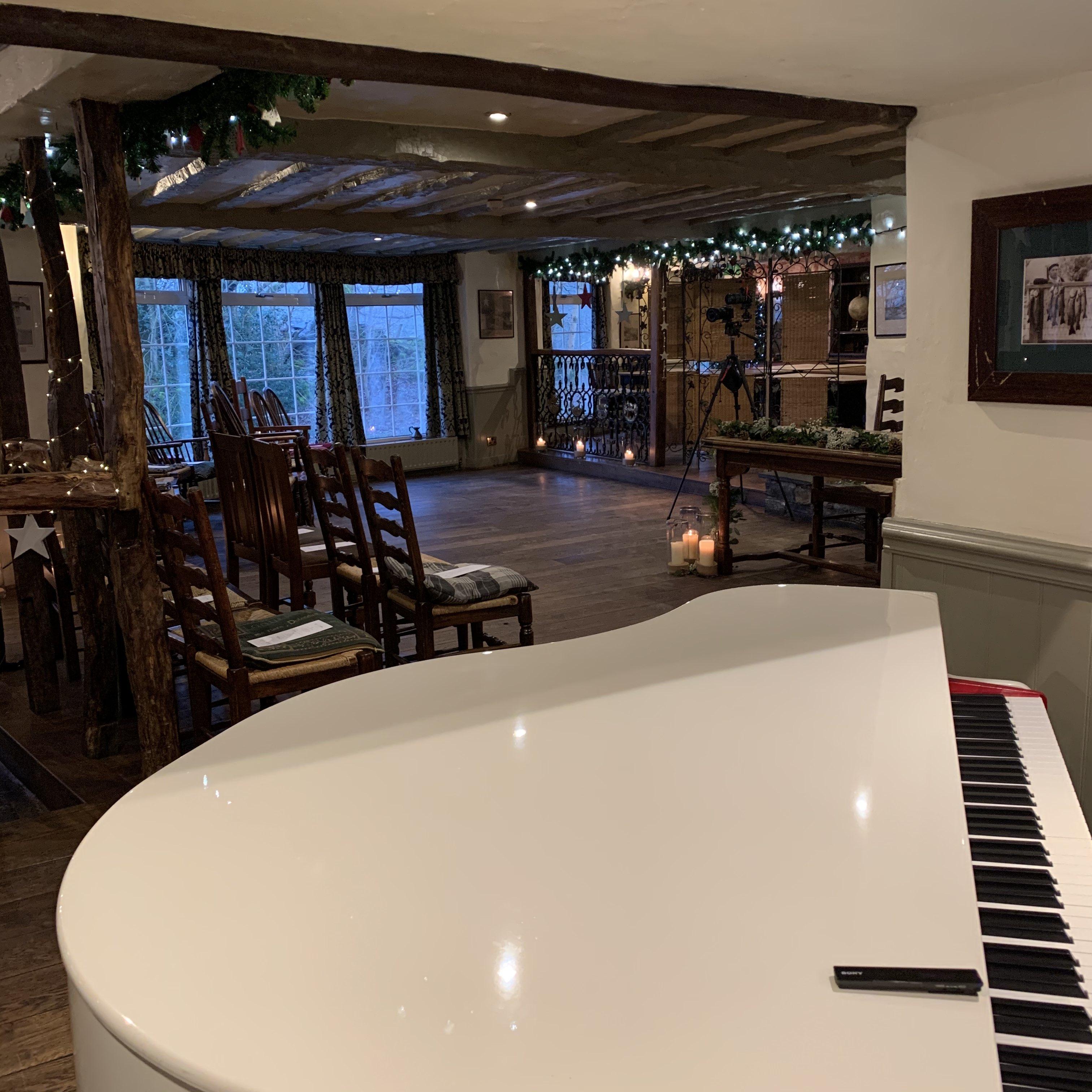 Craig Smith Wedding Pianist for Wild Boar Inn wedding ceremony